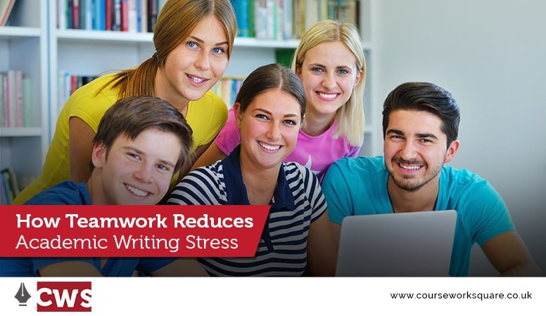 How Teamwork Reduces Academic Writing Stress